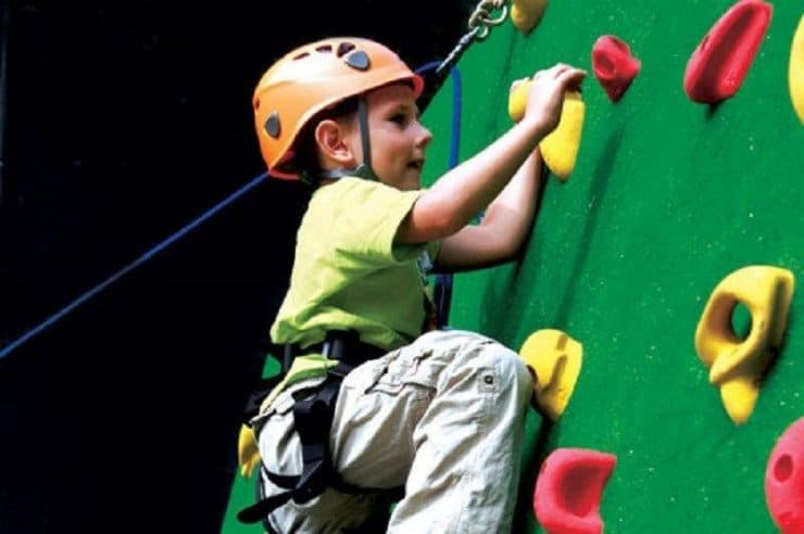 Rock Climbing for todders, kids and children