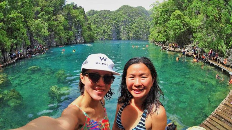 Loving the lakes. Lake hopping all day long..each getting better than the next! snorkeling and diving in palawan