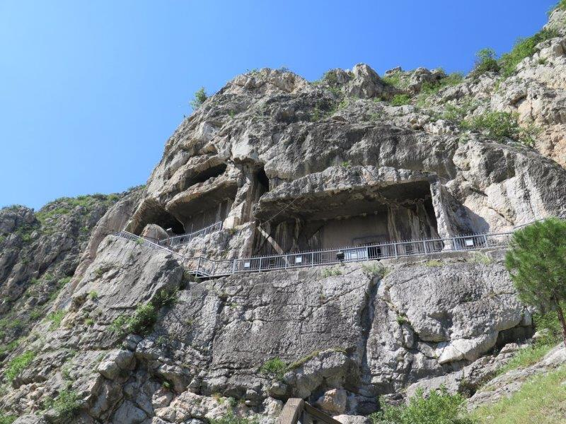Rock tombs of amasys