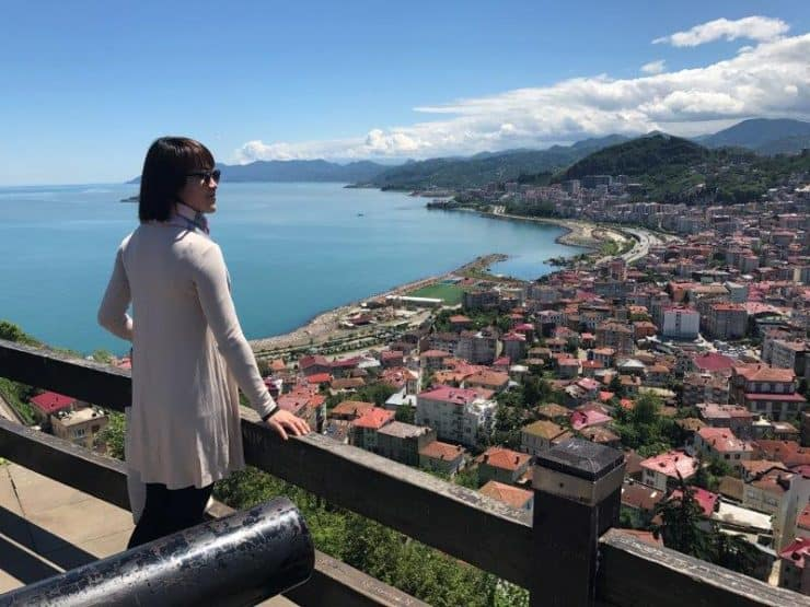 Black Sea Region of Turkey - Explore Giresun from a viewpoint