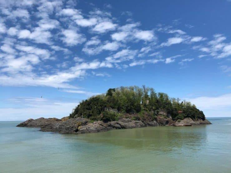 the little island off Giresun in sight!