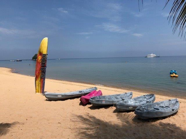 The sunny side of life - brown sandy beaches and vibrant marine life under the surface, welcome to Tioman Island