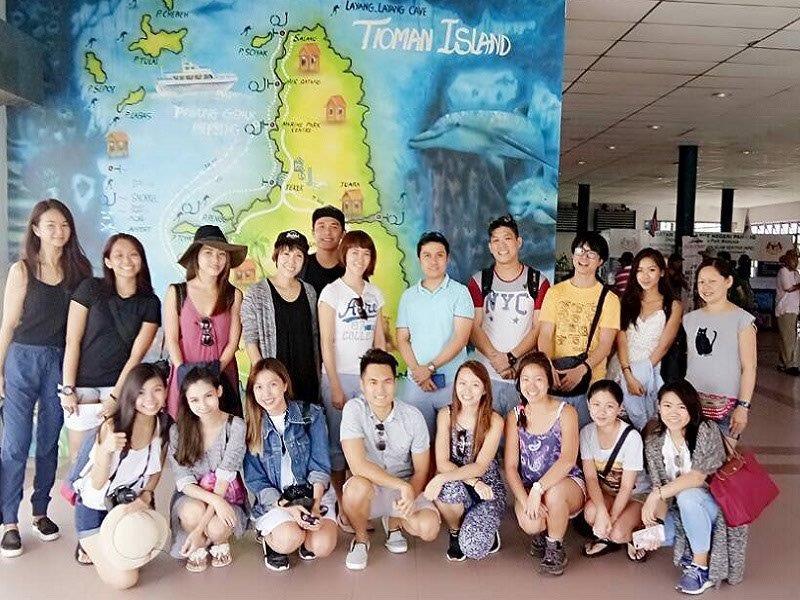 good shot at tioman ferry terminal - short vacation getaway for Singaporeans and asians
