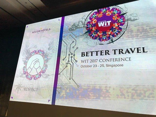 Web in Travel - Better Travel is the theme