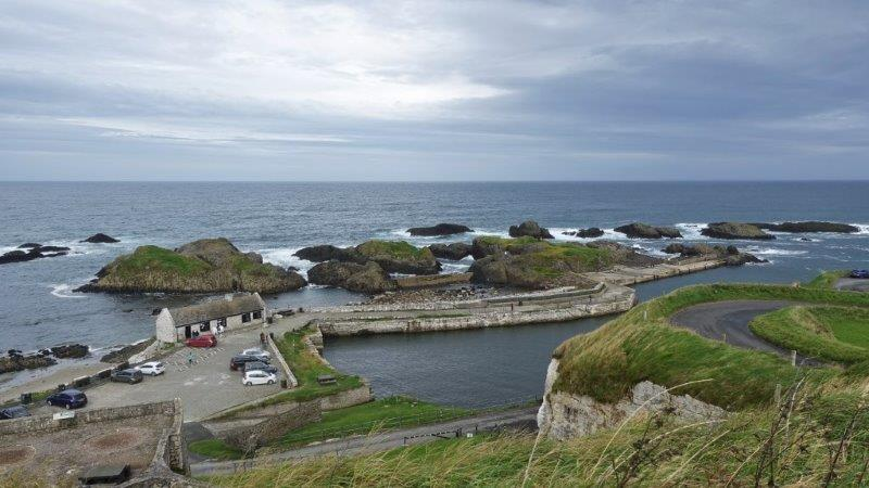 The Greyjoys Home | Ballintoy Harbour | Adventure days out of Northern Ireland | tailor made tours Ireland