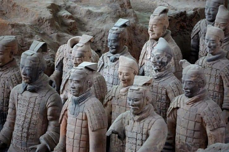 Army of the dead China - Terracotta Army Museum