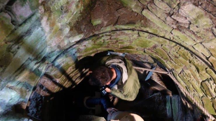 Down the stairways of Trim Castle