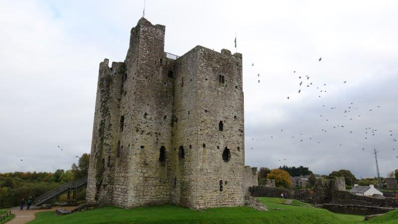 Trim Castle - 1000 years old and formerly used in the Mel Gibson film, Braveheart - ancient celtic sites in ireland