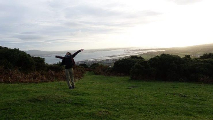 Happy and free in Carlingford