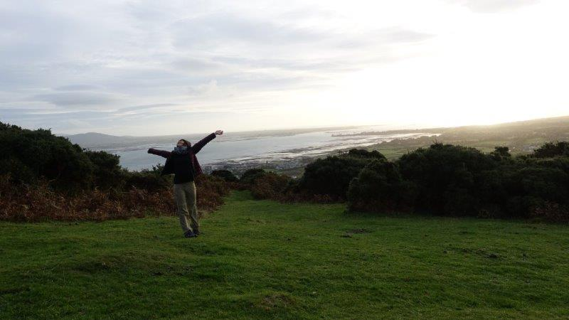 Happy and free in Carlingford - a spiritual sunrise mountain top encounter