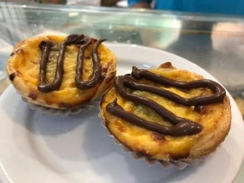 Chocolate Egg Tarts..with Nutella. I love it!!!