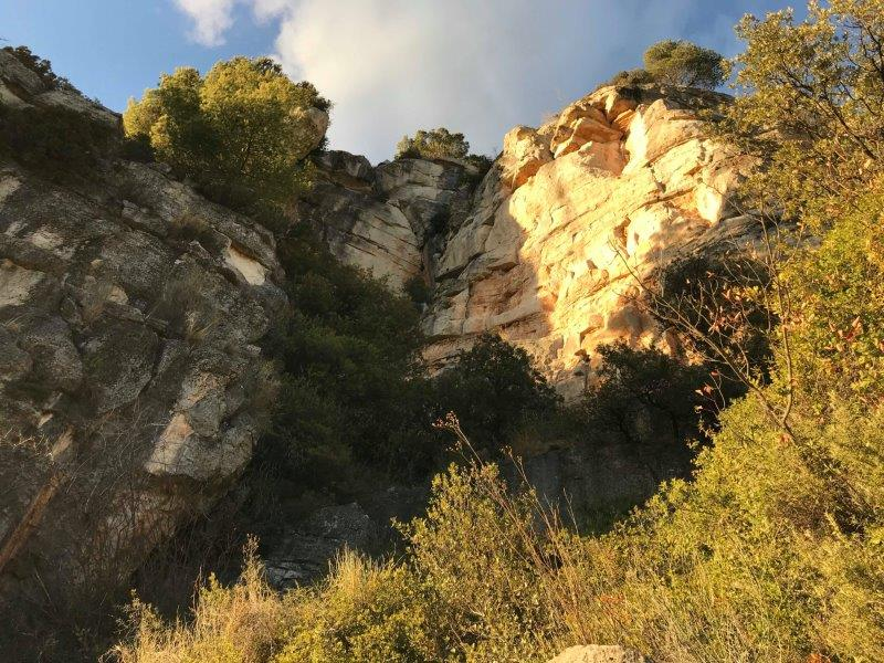 Clean beautiful routes all ready for some lead climbing in Siurana - Tarragona