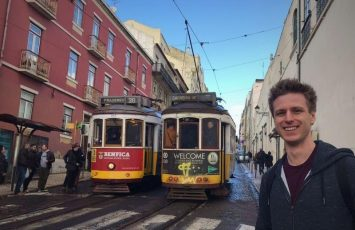 Cez and the trolley trains of Lisbon