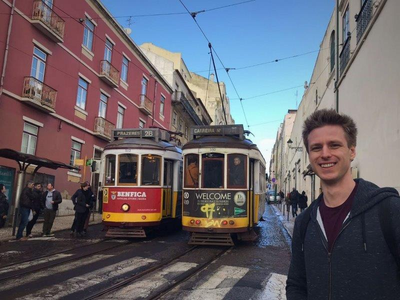 Cez and the trolley trains of Lisbon | Great Lisbon weather