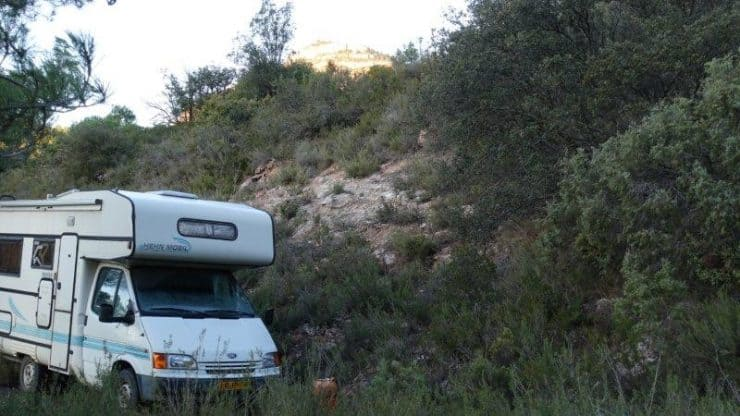 Campervaning overnight in Siurana Wilderness with Climbing Siurana | Cornudella de Montsant