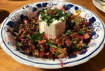 Lovely salad with beetroot home cook style