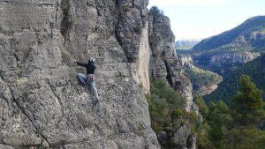 Rock climbing in Siurana with the jawdropping views