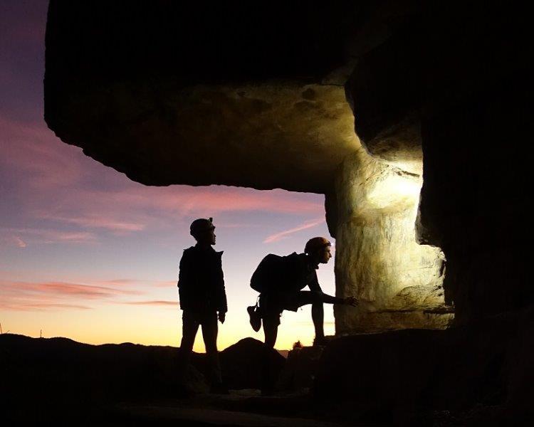 The last light in Siurana Catalonia