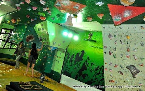 Madmonkeyz Climbing Club Gym