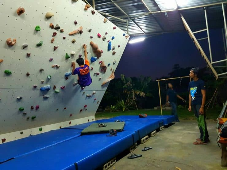 Petit Climbing Gym - Photo credited to Sharin Hashim