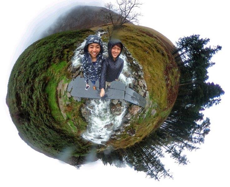 The little world of Mount Snowdonia with Alicia's 360 camera