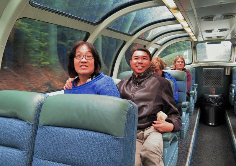 Parents addicted to travel all around the world in this case Canadian Rail | Travel Obsession and Love