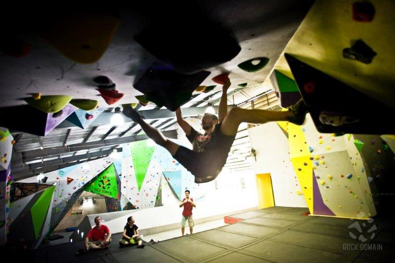 Rock Climbing Bangkok | Photo credited to Rock Domain Climbing Gym