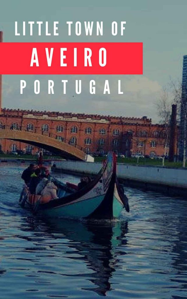 Little town of Aveiro Portugal