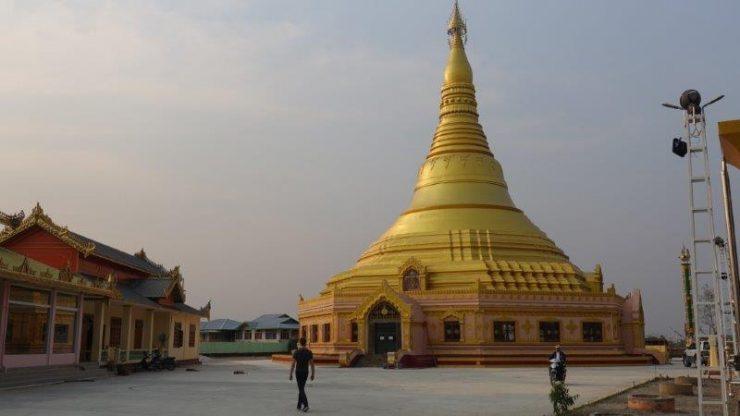 Getting a visa in Myanmar | Bagan Myanmar Hot Air Pagodas and Temples