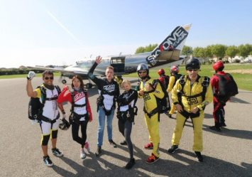 SkyDive memories in Costa Brava