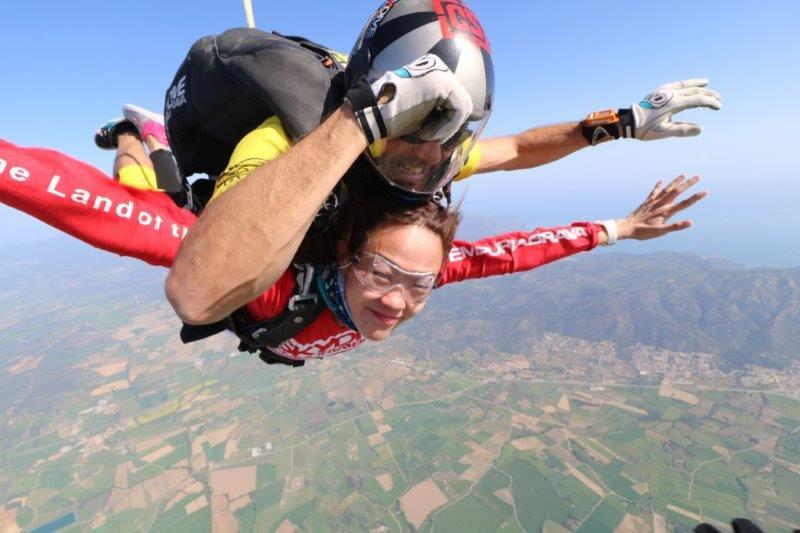 Sail through the skies | Tandem skydive in Empuria brava