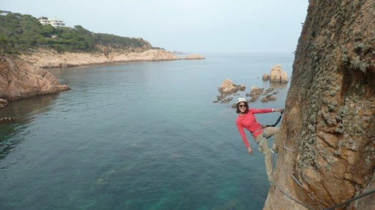 Rock climbing of a different sort. Time to experience - Via Ferrata by the sea!! |  | Via Ferrata Spain