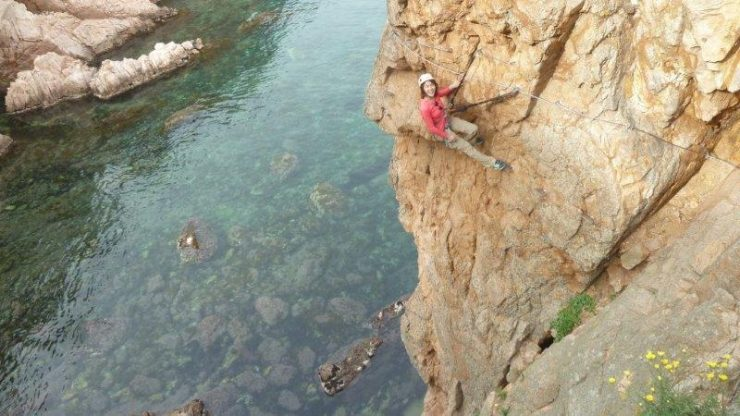 Via Ferrata Along the Rocky Costal Part of Costa Brava | Via Ferrata at Saint Feliu de Guixols