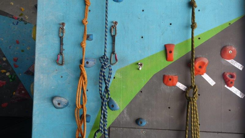 Types of knots and practise station | Lead Climbing Basics and Rules