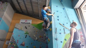 How to climb above your clip | Lead Climbing Courses in Bangkok