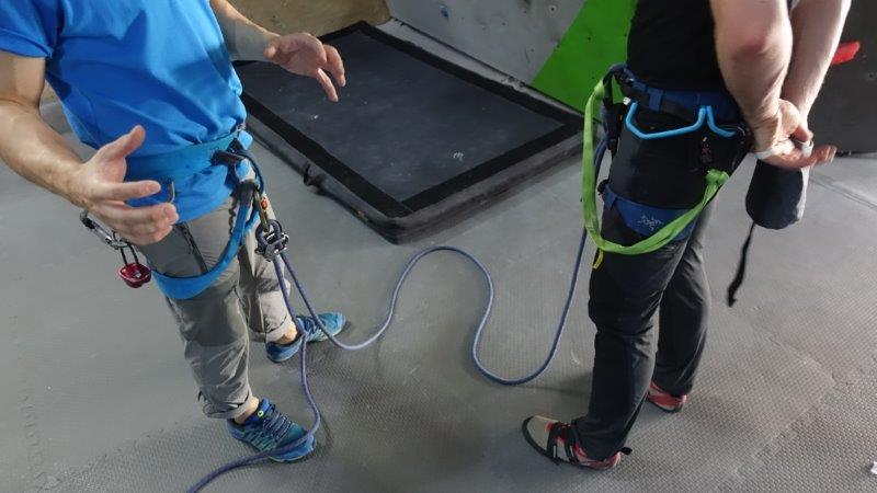 Learning safety rules and steps | Lead Climbing Basics and Rules