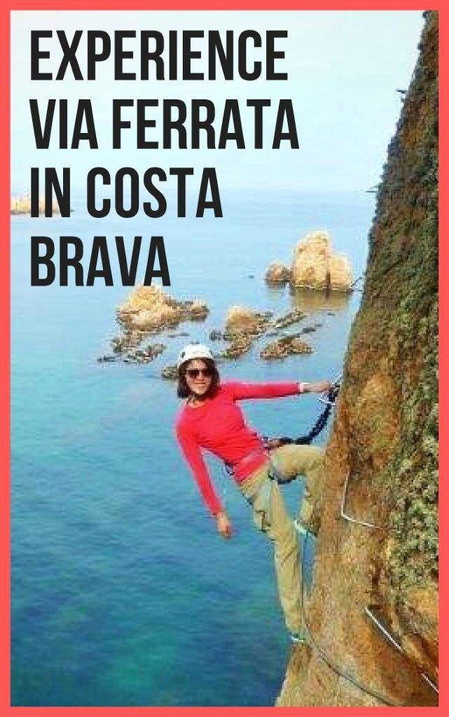 1 full day Via ferrrata adventures in costa brava in summer