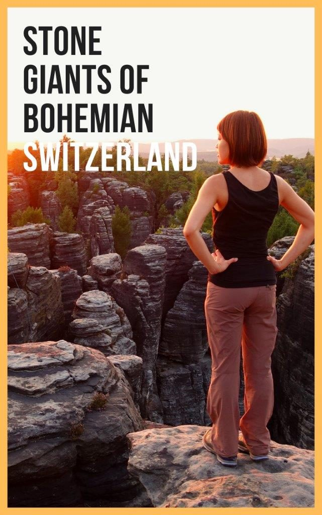 stone giants and sandstone rock climbing at tisa rock bohemian switzerland