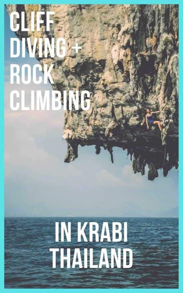 deep water solo and sport climbing in Krabi thailand | Rock Climbing