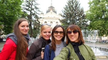 Incredible city tour of Kosice with these ladies