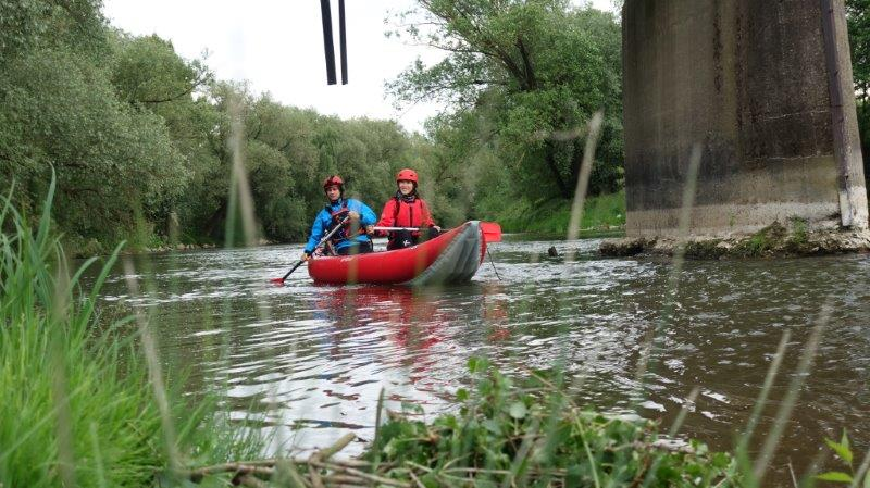 Peaceful kayaking down Hornád River with Eden Slovakia