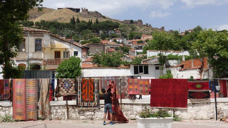 The elaborate Turkish design carpets seen all over the country | Holidays in Turkey