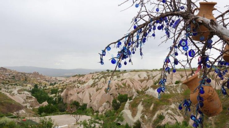 Pigeon Valley and the tree of evil eyes | Cappadocia Turkey Images