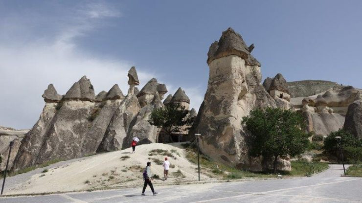 The iconic distinction of Cappadocia compared to other rocky landscape around the world is its – fairy chimneys rocks | Visit Goreme