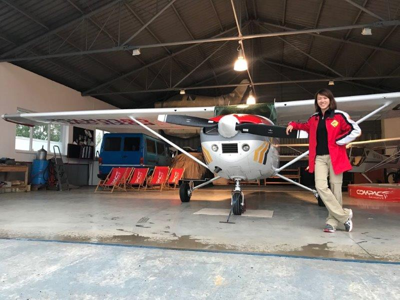 Me and my own plane - Scenic Flight Experience with Compact SkyDive here in Spišská Nová Ves | Top Outdoor Things to Do in Kosice Slovakia