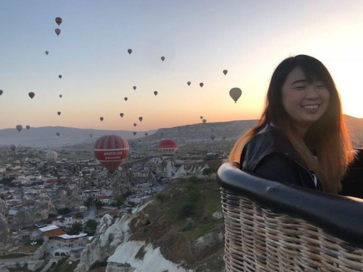 Hot Air Balloon over Cappadocia Turkey - Lets Begin the Sunrise Adventure