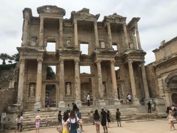 The grand library of Ephesus where all the people who are learned or want to learn go | Lives of the Ephesians
