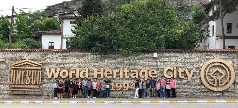Group shot with the incredible team at Safranbolu