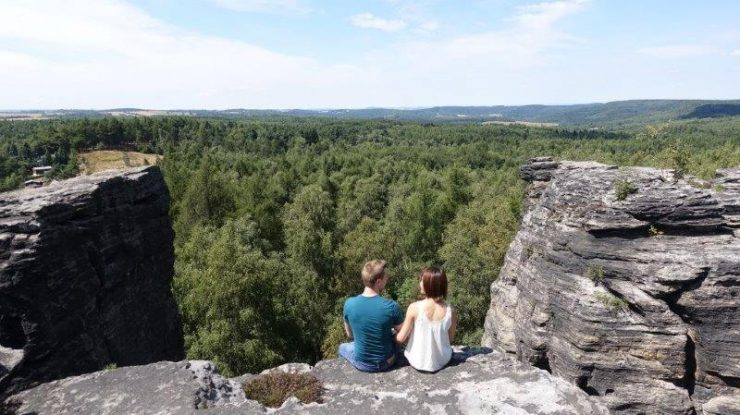 Cez and I enjoying the view | Something for the Outdoor Lovers