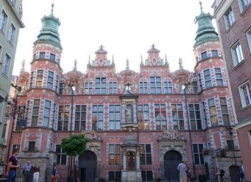 Stunning old preserved buildings in Gdansk